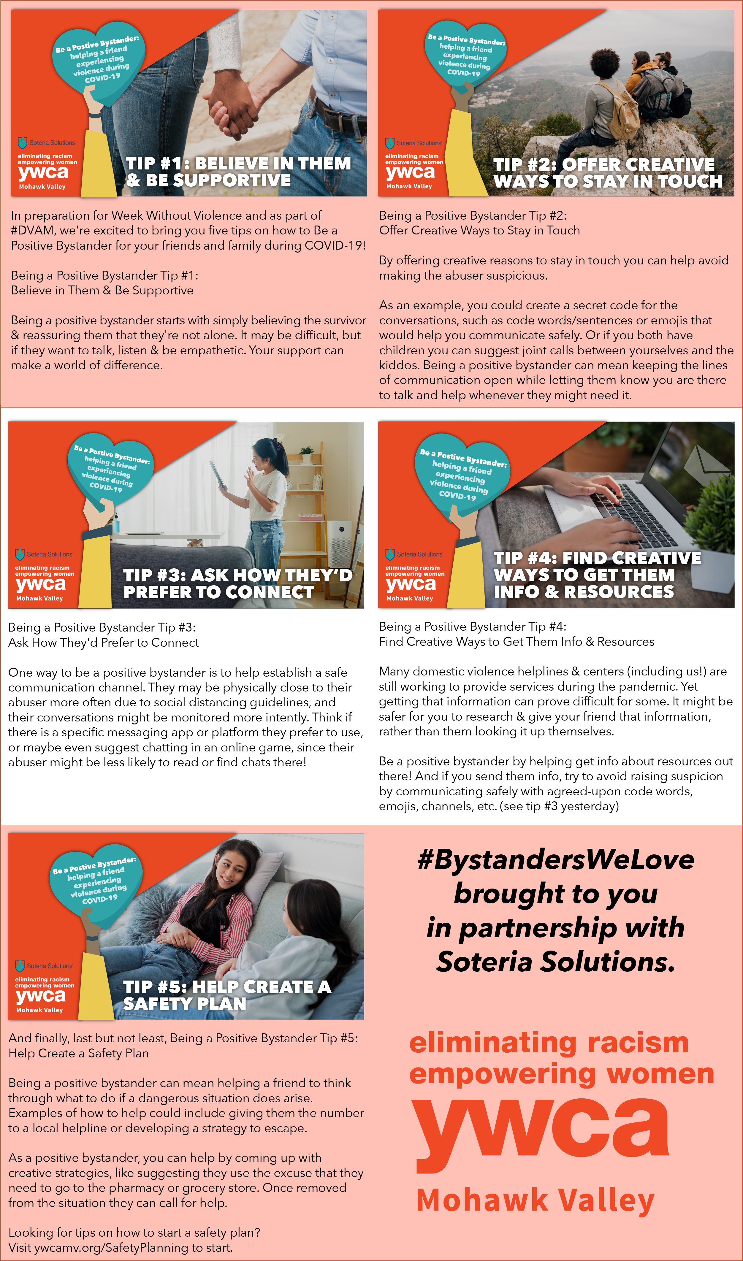 Bring in the Bystander Series - Being a Positive Bystander