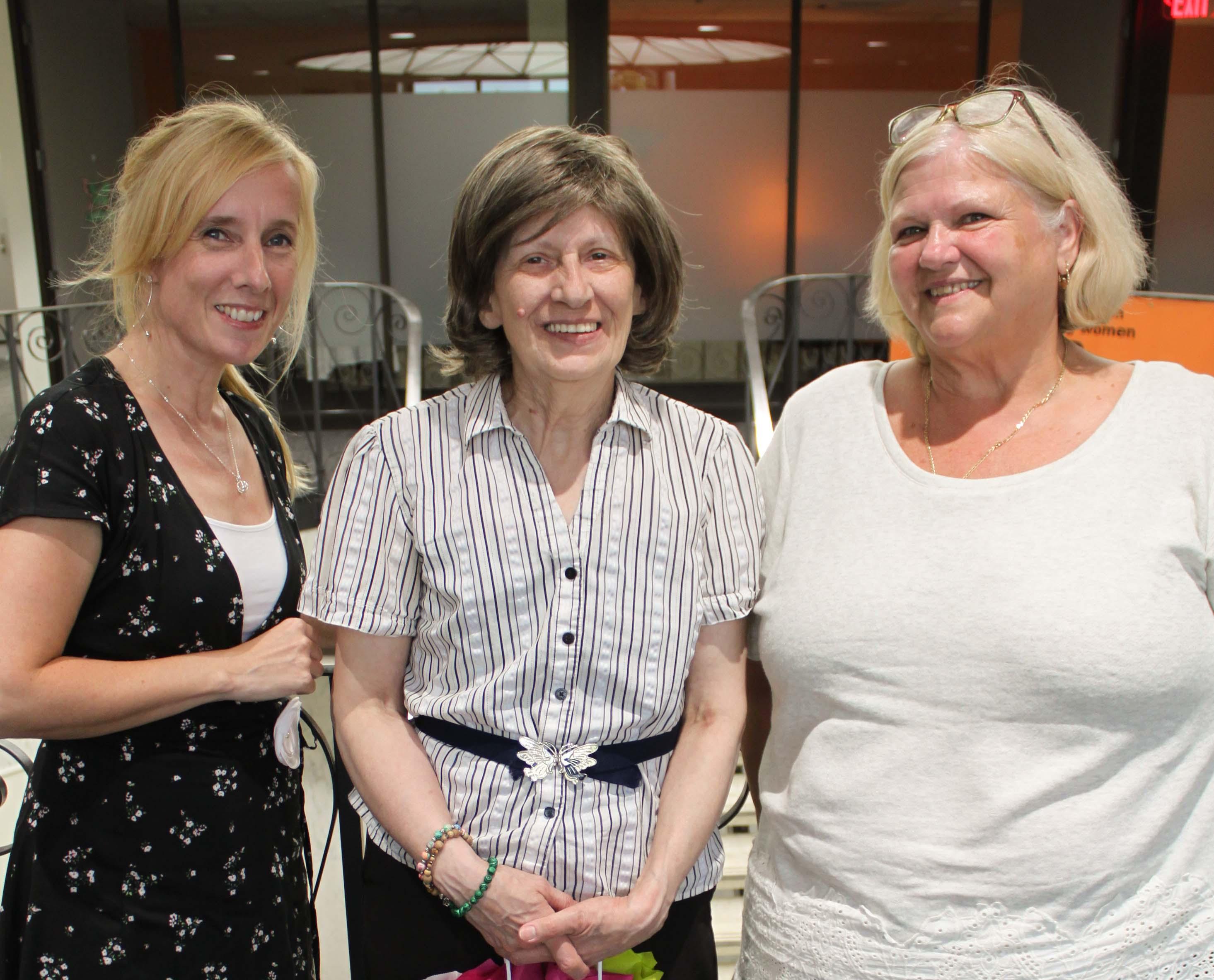 Laura, Gail, Melanie