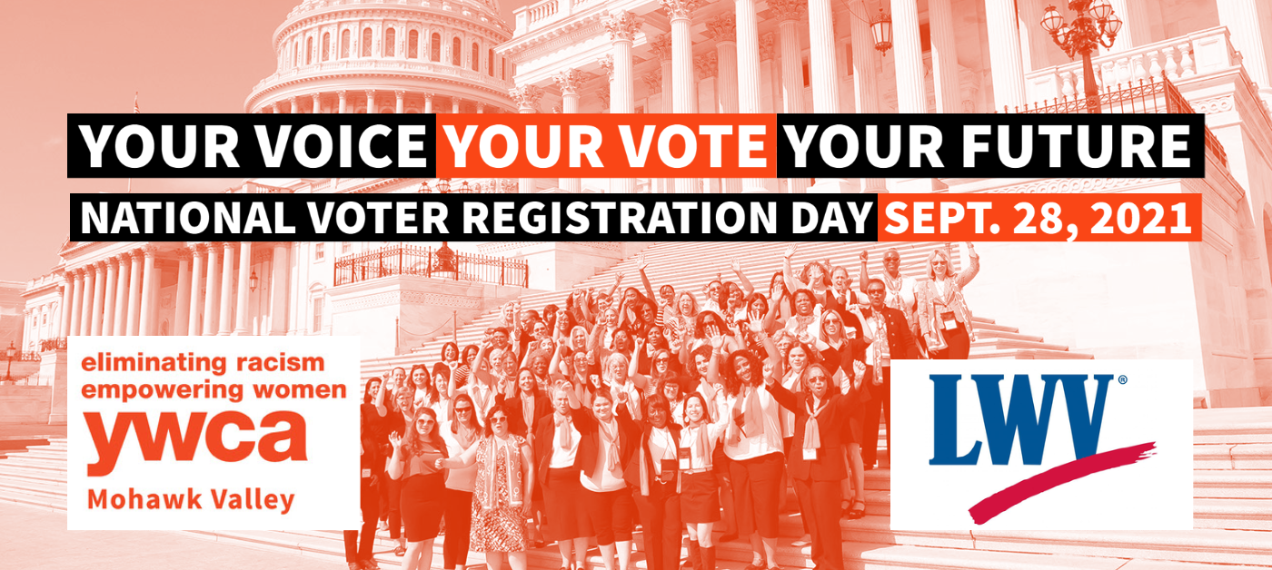 National Voter Registration Day @ YWCA MV Administrative Office